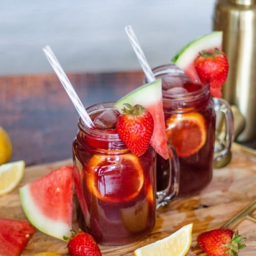 Alcoholic Drinks – BEST Red Wine Sangria Recipe – Easy and Simple Red Wine Cocktail – How To Make Homemade Alcohol Cocktails