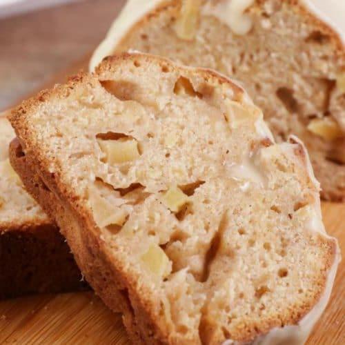 Easy Caramel Apple Bread – Best Homemade Caramel Apple Bread Recipe – {Easy} Recipes – Snacks – Desserts – Breakfast - Quick – Simple