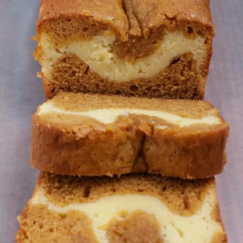 Easy Pumpkin Bread – Best Homemade Pumpkin Cream Cheese Bread Recipe – {Easy} Fall Recipes - Breakfast – Snacks – Desserts – Quick – Simple