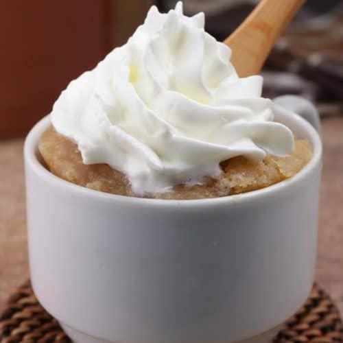 Gingerbread Mug Cake! BEST Gingerbread Cake In A Mug Recipe – Quick & Easy 2 Minute Microwave Idea