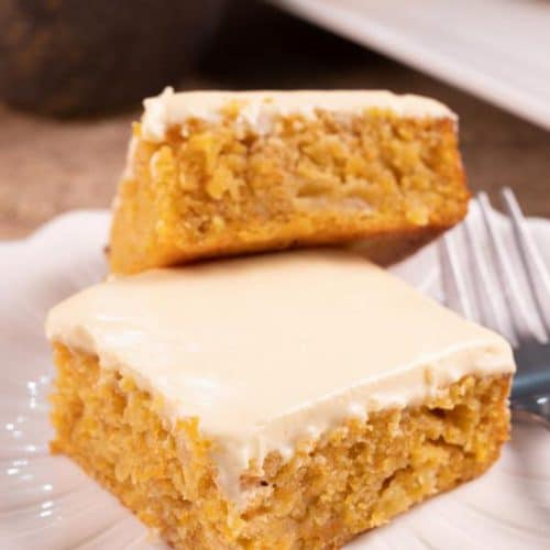 Easy Mini Carrot Cake Squares - Best Carrot Cake Recipe - Desserts – Snacks - Party Food