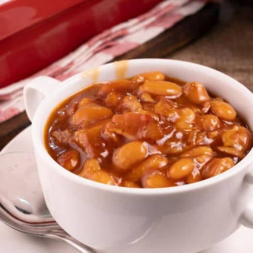 Easy Baked Beans – Best Homemade Bacon Brown Sugar Baked Beans Recipe – {Easy} Lunch – Dinner – Snacks – Side Dishes – Quick – Simple