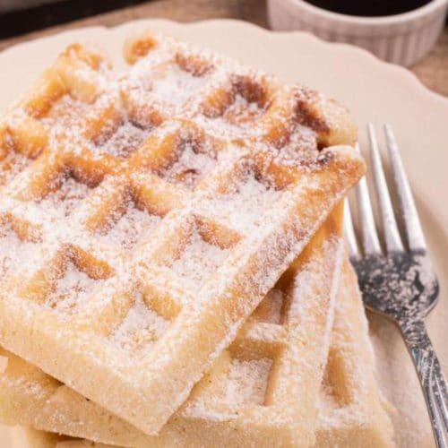 Easy Waffles – Best Homemade Churro Waffles Recipe – {Easy} Breakfast – Desserts – Snacks – Kids Party Food