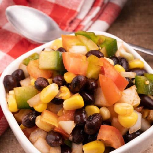 Easy Salsa – Best Homemade Black Bean Corn Salsa Recipe – {Easy} Lunch – Dinner – Appetizers – Side Dishes – Party Food