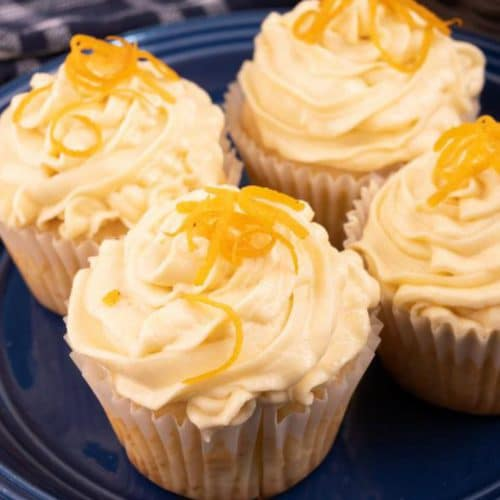 Easy Cupcakes – Best Frosted Orange Creamsicle Cupcake Recipe – Desserts – Snacks – Kids Party Food