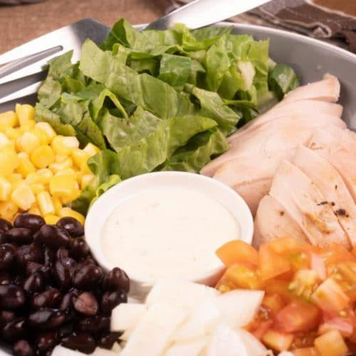 Easy Salad – Best Homemade Southwestern Grilled Chicken Salad Recipe – {Easy} Lunch – Dinner – Snacks – Side Dishes